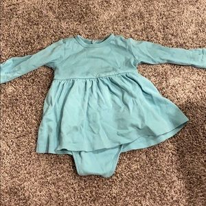 Primary blue 6-12 month dress
